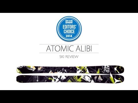 2014 Atomic Alibi Ski Review - Men's All Mountain Editors' Choice