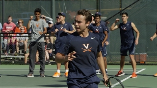 4 Virginia takes down #11 UNC in a thriller at the Snyder Tennis Center.