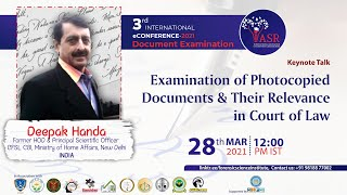 Examination of Photocopied Documents & Their Relevance in Court of Law