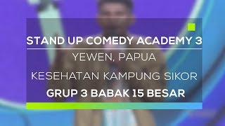 Video Stand Up Comedy Academy 3 : Yewen, Papua - Kesehatan Kampung Sikor MP3, 3GP, MP4, WEBM, AVI, FLV Januari 2019