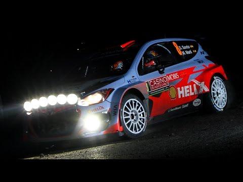 WRC Rallye Monte Carlo 2015 - Day 1 [HD]