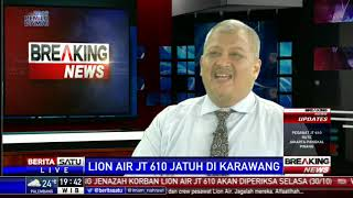 Video Dialog: Lion Air JT-610 Jatuh di Karawang # 1 MP3, 3GP, MP4, WEBM, AVI, FLV November 2018