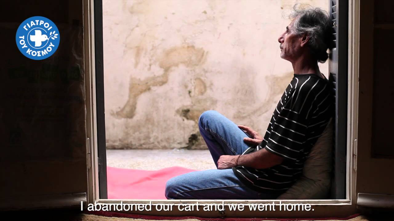 Doctors of the World Greece | Nabi, 50 years old from Afghanistan | Victim of racist attack