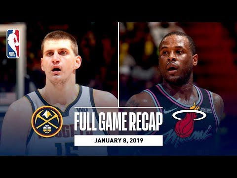 Video: Full Game Recap: Nuggets vs Heat | Jokic Records 20th Career Triple-Double