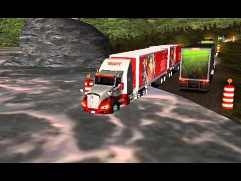 Kenworth T660 Full Cerveza Tecate - 18 WoS Haulin Trucks México 2013
