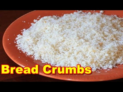 how to make seasoned bread crumbs for chicken