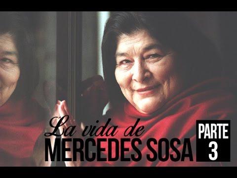Mercedes Sosa video Informe Especial - Parte 3