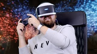 Играем в PS VR: Batman, Driveclub, Resident Evil и др...