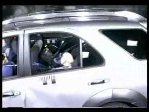 Kia Sorento Краш-тест Kia Sorento от EuroNCAP. Фронтальный удар