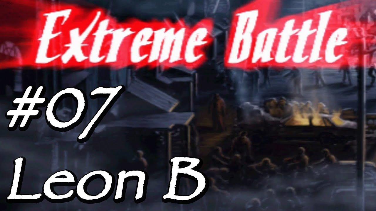 [Let's Play] Resident Evil 2 (Leon B) – 07 – Bonus: Extreme Battle