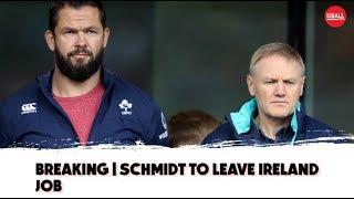 Alan Quinlan on | Joe Schmidt's departure | Andy Farrell steps up |