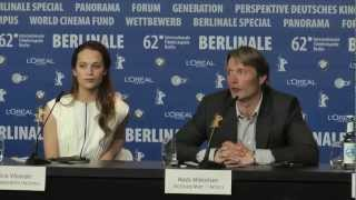 Nonton A Royal Affair   Press Conference Pt  2  2012  Berlinale 2012 Film Subtitle Indonesia Streaming Movie Download