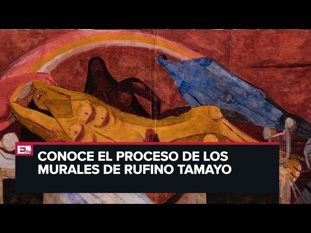 Exposición: En apariencia otro México. Bocetos para murales de Rufino Tamayo