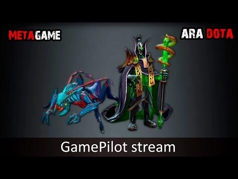 MetaGame + Ara Dota GamePilot Stream 27.02