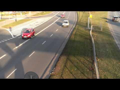 Przykładowe wideo LG Swift L9 - test