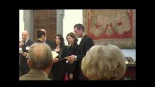"""Un Bosco Per Kyoto- Premiazione dell'Aria da Camera """"Alla Luna"""" di Elvira Menditto"""