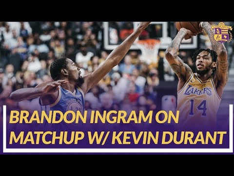 Video: Lakers Nation Post Game: Brandon Ingram Talks About His Matchup With Kevin Durant