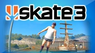 Skate 3 Funny Moments w/ Vanoss, Delirious and Nogla - Tornado, Hall of Meat, Crazy Body Glitch!