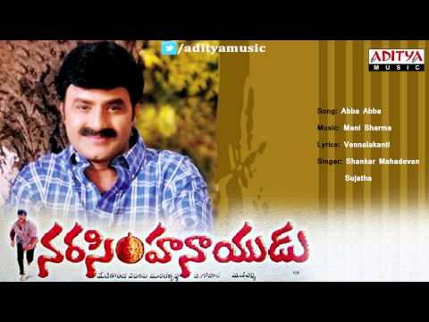 Narasimha Naidu Telugu Movie | Abba Abba Full Song | Bala Krishna, Simran