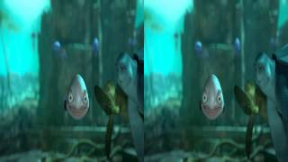 A Turtle's Tale: Escape From Paradise 3D Trailer | Side by Side