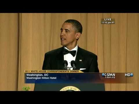 Obamas 2011 Correspondents Speech