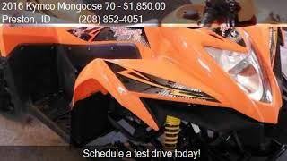 2. 2016 Kymco Mongoose 70  for sale in Preston, ID 83263 at MDI