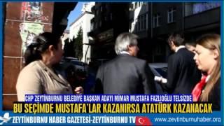 CHP Zeytinburnu Belediye Başkan Adayı Mimar Mustafa Fazlıoğlu Atom Karınca Gibi Çalışıyor