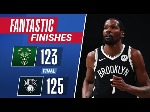 KD Hits CLUTCH Triple Late To Guide Brooklyn To W!