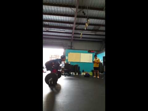 Captain America does GRACE at CrossFit 808