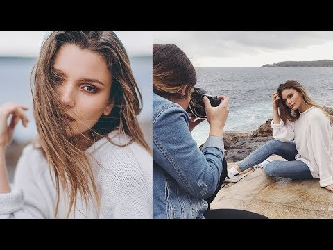 50mm 1.2 vs 50mm 1.4 Canon Fashion Photoshoot Behind the Scenes