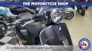 9. 2014 Vespa GTS 300 Super Sport