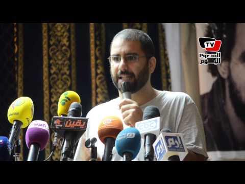 علاء عبدالفتاح: الحكام عندهم كابوس اسمه «الاحتجاجات»