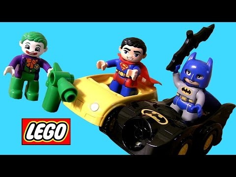 LEGO - Welcome to Blucollection ToyCollector. This time I'm unboxing 2 Superheroes from DC Comics. Lego Duplo Superman Rescue 10543 and Lego Duplo The Joker Challenge 10544. These are building ...