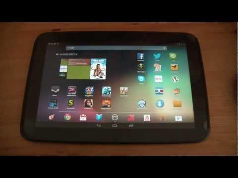 Google Nexus 10 – Características y funcionamiento en español