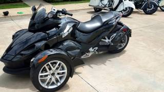 10. 2013 Can Am Spyder RS