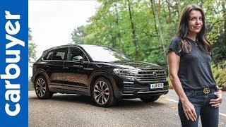 New 2018 Volkswagen Touareg SUV in-depth review – Carbuyer – Ginny Buckley by Carbuyer