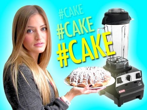 HOW TO MAKE A POUND CAKE IN A BLENDER%21