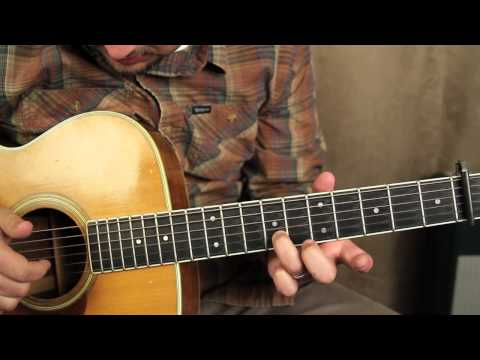 How to Play – Fast Car – by Tracy Chapman – Finger Picking Guitar Lessons – Acoustic Songs on Guitar