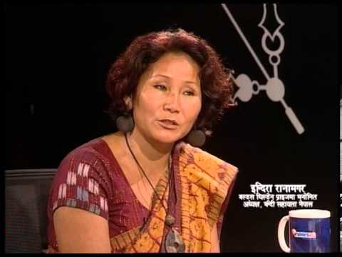 TOUGH talk with Indira Rana Magar (Nominee of World's Children's Prize)