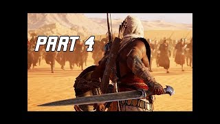 Assassin's Creed Origins Gameplay Walkthrough Part 4 - Combat? (Hands on Impressions)
