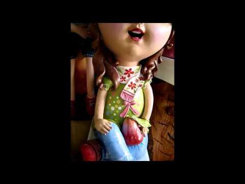 ตุ๊กตาดินเผาชุด นางฟ้า 2