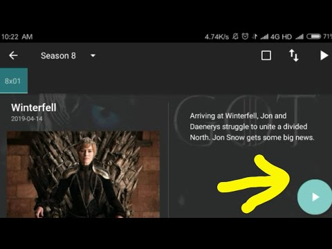 How To Download Game Of Thrones Season 8 Episode 1 From Terrarium App For Free