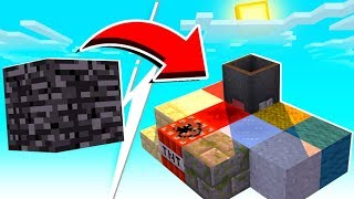 Minecraft Skyblock But It Gives ME A Random Item Every 5 Seconds - Random Item Skyblock #4