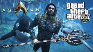 Ultimate Aquaman Mod W  Atlantis Underwater City   Gta 5 Mods