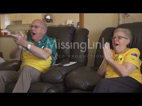 Kyle Chalmers grandparents tears of joy watching him win Rio Gold Original