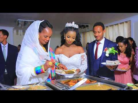 Best Ethiopian Wedding Tekia Hailu With Marta G/her