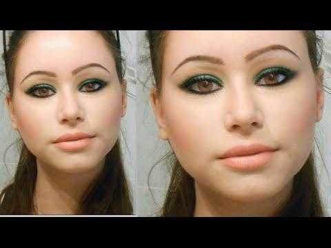 video tutorial - make up verde bottiglia