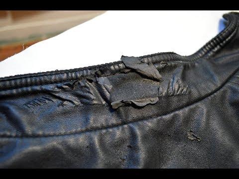 Ремонт воротника куртки из кожзаменителя своими руками 50
