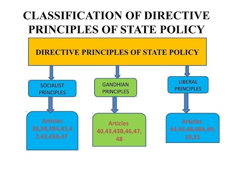 directive principles of state policy The directive principles of state policy are the guidelines or principles given to  the federal institutes governing the state of india, which must be kept in mind.