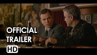 The Monuments Men Official Trailer #2 (2014)